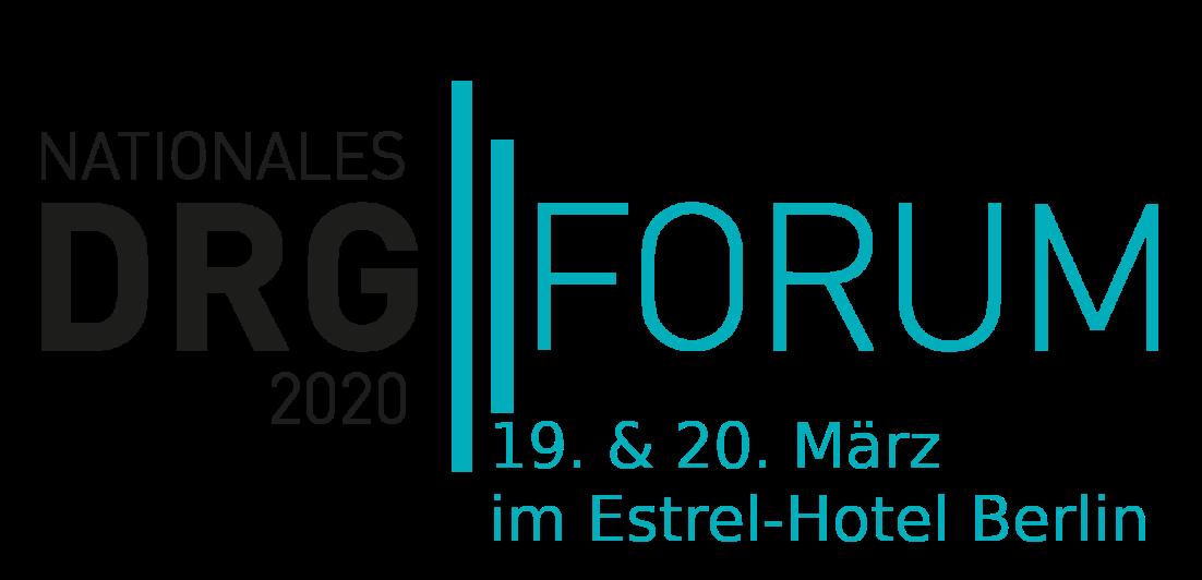 Besuchen Sie uns:  DRG-Forum 2020 in Berlin